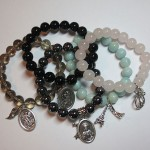 Crystal Bracelets with Charms