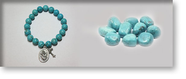 Blue Howlite Crystals and Gemstones | Crystal Passion