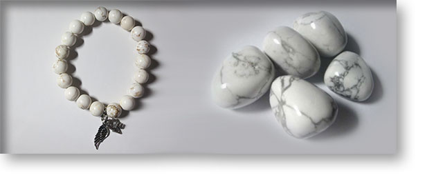 White Howlite Crystals and Gemstones | Crystal Passion