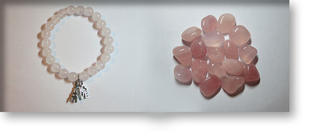 Rose Quartz Crystals by A Crystal Passion