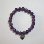 Amethyst Crystal Bracelets for Children