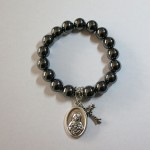 Hematite Bracelet with Charms