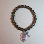 Smoky Quartz Bracelet with Charms