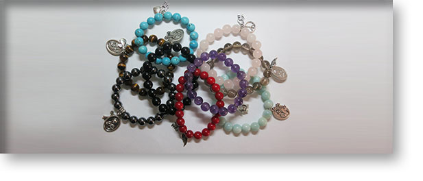 Adult Bracelet with Charms by Crystal Passion