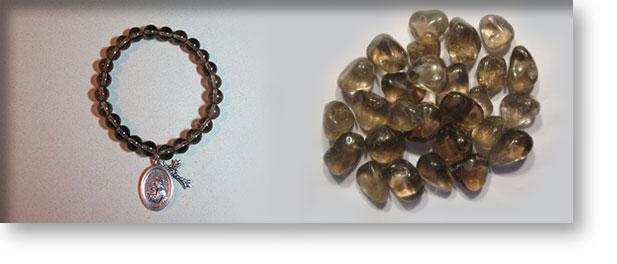 Smoky Quartz Gemstones By Crystal Passion