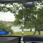 St Christopher Dream Catcher for Car by Crystal Passion