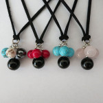 Gemstone Angel Necklaces by A Crystal Passion