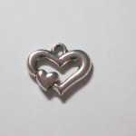Large Heart Charm