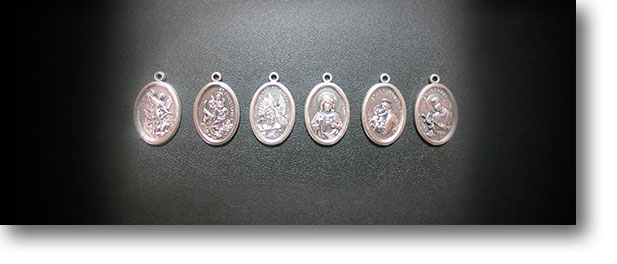 Saint Charms for Crystal Passion Bracelets