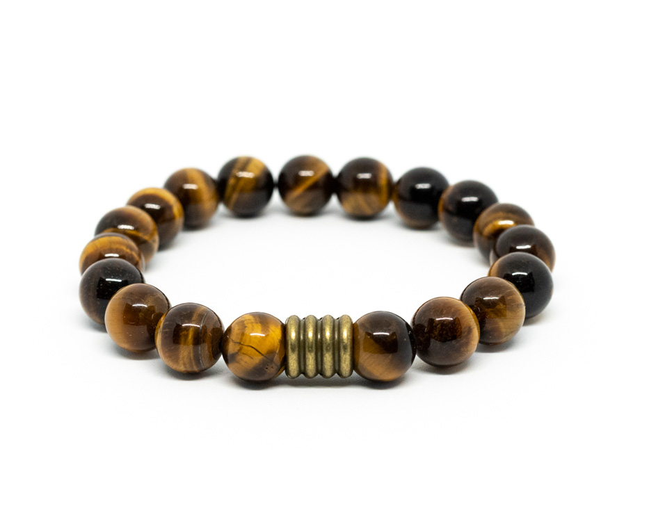 Tiger Eye Male Bracelet