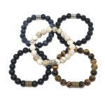Male Crystal Bracelets